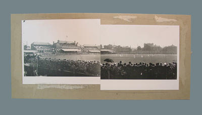 Panoramic image of The Oval, during England v Australia 1899