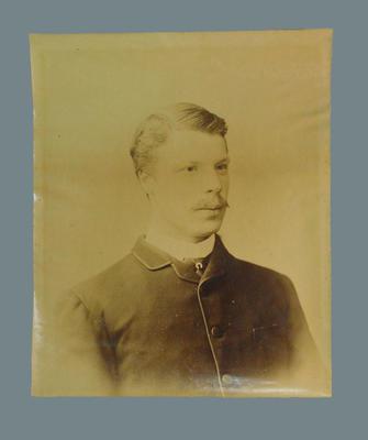 Photograph of HJH Scott, c1884