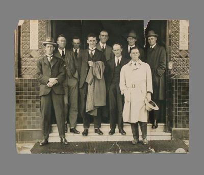 A.E. Liddicut, John 'Jack' Ryder and other members Victorian XI c. 1922-23; Photography; M7413