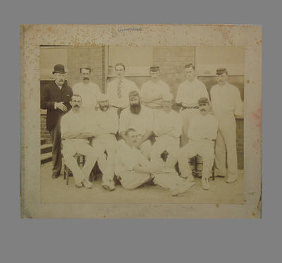 Photograph of Gloucestershire County Cricket Club, c1893