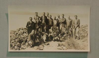 Group portrait taken during VJCA tour of Tasmania, c1937-38; Photography; M8062