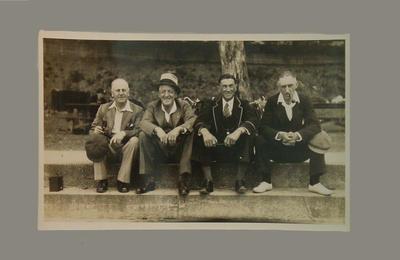 Group portrait taken during VJCA tour of Tasmania, c1937-38; Photography; M8063