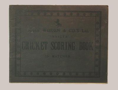 La Mascotte Cricket Club scorebook, seasons 1929-31