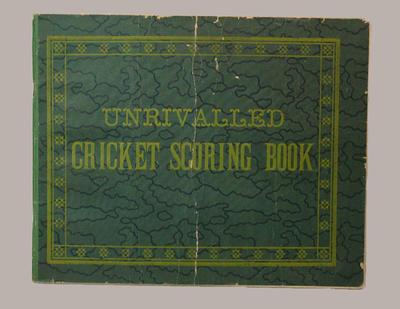 Cricket scorebook for various clubs, season 1948-49