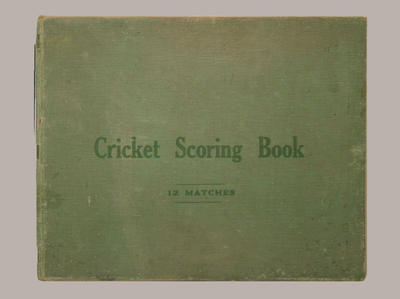 Presco Cricket Club scorebook, seasons 1935-36