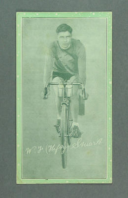 Trade card featuring Wally Stuart, c1930s