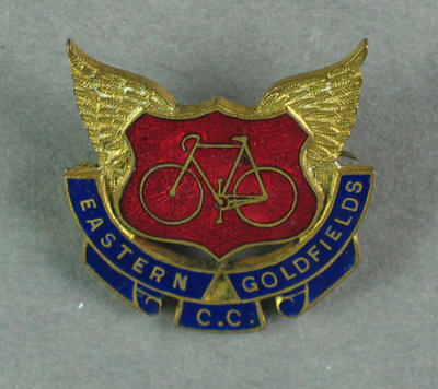 Badge - Eastern Goldfields Cycling Club, 32/ 1928; Trophies and awards; 1993.2895.57
