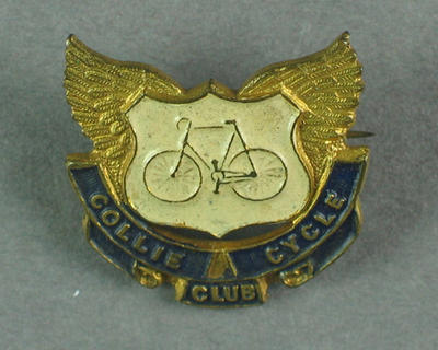Badge - Collie Cycle Club; Trophies and awards; 1993.2895.62