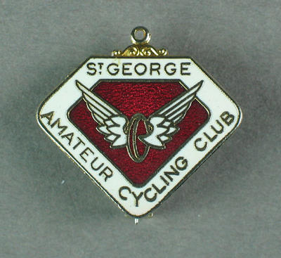 Badge - St George Amateur Cycling Club; Trophies and awards; 1993.2895.64
