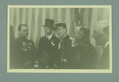Twenty identical photographs, depicting five unknown men