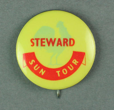 Badge - Sun Tour - Steward.  c.1954-55