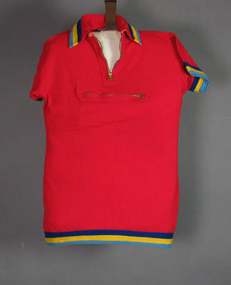 Jersey worn in Centenary 1000 Cycle Race by Ken Cross, 1934