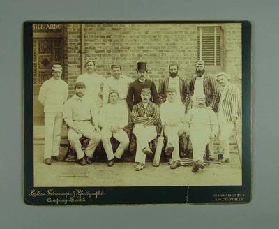 Photograph of the Australian Team in England 1888; Photography; M7618