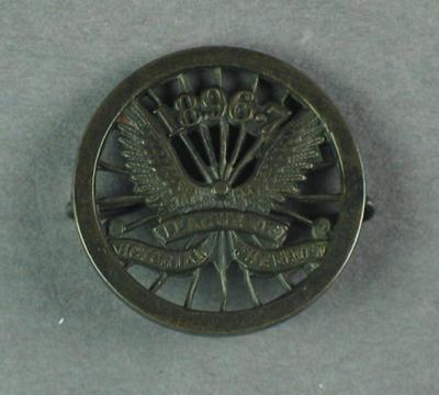 Brooch - League of Victorian Wheelmen 1896-7