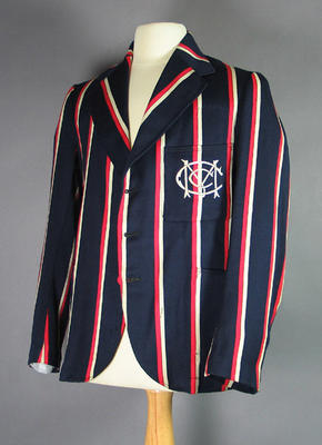 M.C.C. cricket blazer worn by Keith Edward Rigg