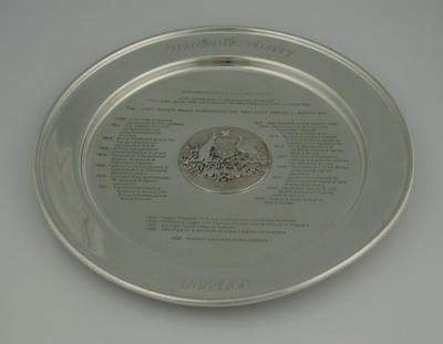 Commemorative plate, Australian Bicentenary