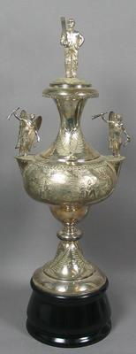 Langford Challenge Cup, won by Hotham Hill Union Cricket Club 1883-84