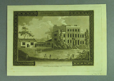 "Engraving, ""Putney School"""
