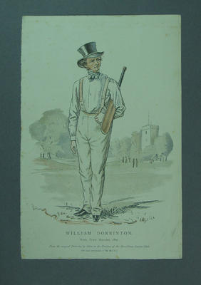 Lithograph, William Dorrinton