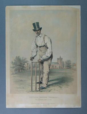 Lithograph, Edward Gower Wenman