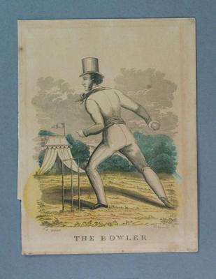 Engraving, The Bowler