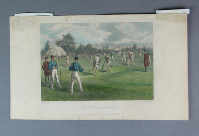 """""""The Return Match"""", published by Rogerson & Tuxford 1862"""