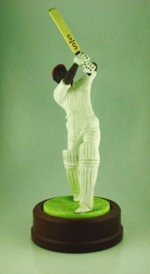 Ceramic figurine, Viv Richards; Domestic items; M5041