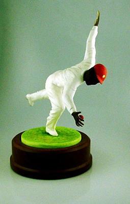 Ceramic figurine, Learie Constantine