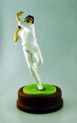 Ceramic figurine, Dennis Lillee