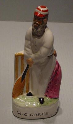 Figurine, W G Grace; Domestic items; M5052