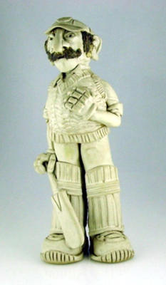Figurine, male cricketer