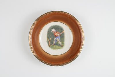 Bowl, image of boy cricketer