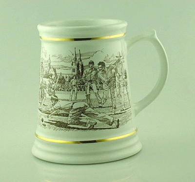 Tankard, Adelaide Oval Centenary Test; Domestic items; M5087