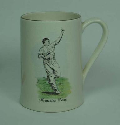 Mug, image of Maurice Tate