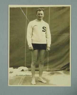 Photograph of Clarence Pinkston