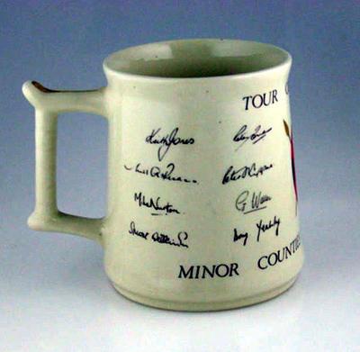 Mug, Minor Counties Cricket Association - Tour of Kenya 1978