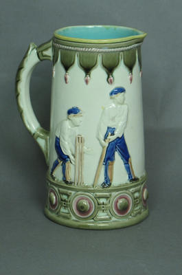 Jug, cricket designs