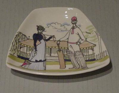 Ashtray, cricket design
