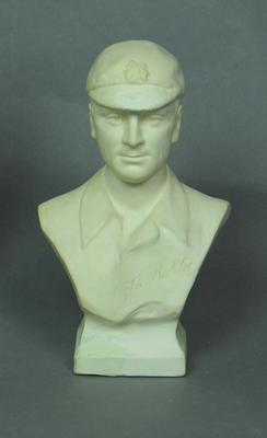 Bust of cricketer  Sir Jack Hobbs