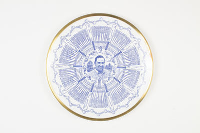 Plate, details career of Colin Cowdrey