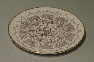 Plate, John Edrich - Century of Centuries