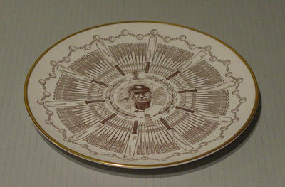 Plate, Sir John Berry Hobbs - Century of Centuries