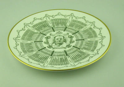 Plate, Don Bradman - Century of Centuries
