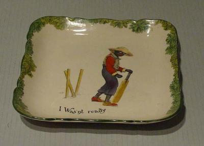 "Plate, ""I Wasn't Ready"""