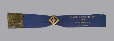 Sash, Stawell Easter Gift 1929