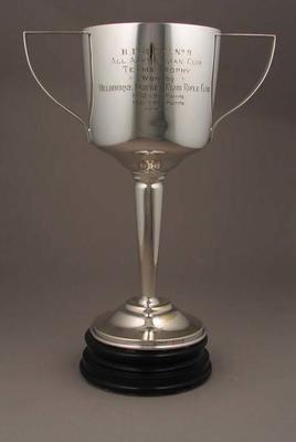 Trophy won by Melbourne Cricket Club Shooting Section, BDRCU No 9 All Australian Club Teams Trophy - 1930 & 1931; Trophies and awards; M6705
