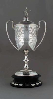 The Bendigo Advertiser Trophy - 1933 Bendigo & South Bendigo Rifle Club Easter Meeting - won by MCC Rifle Club; Trophies and awards; Trophies and awards; Trophies and awards; M6716.1