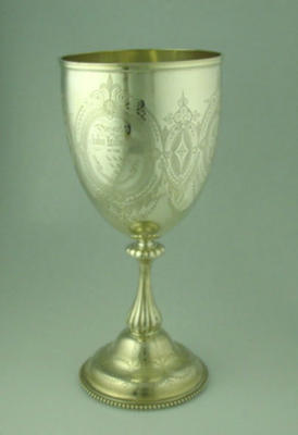 Cup presented to John Lillywhite, Sussex County Cricket Club - 1871
