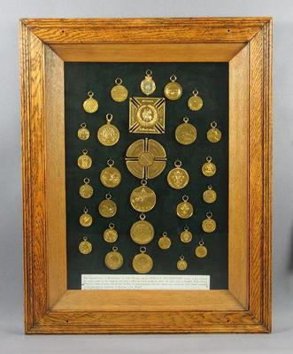 Reproduction medals awarded to Donald Mackintosh, c1900s
