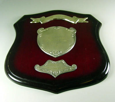 Shield presented by VCA won by 1st XI Premiers MCC 1972-73